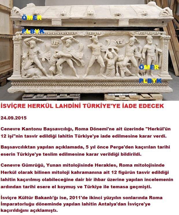 İsviç're Herkül Lahdini Türkiye'ye iade