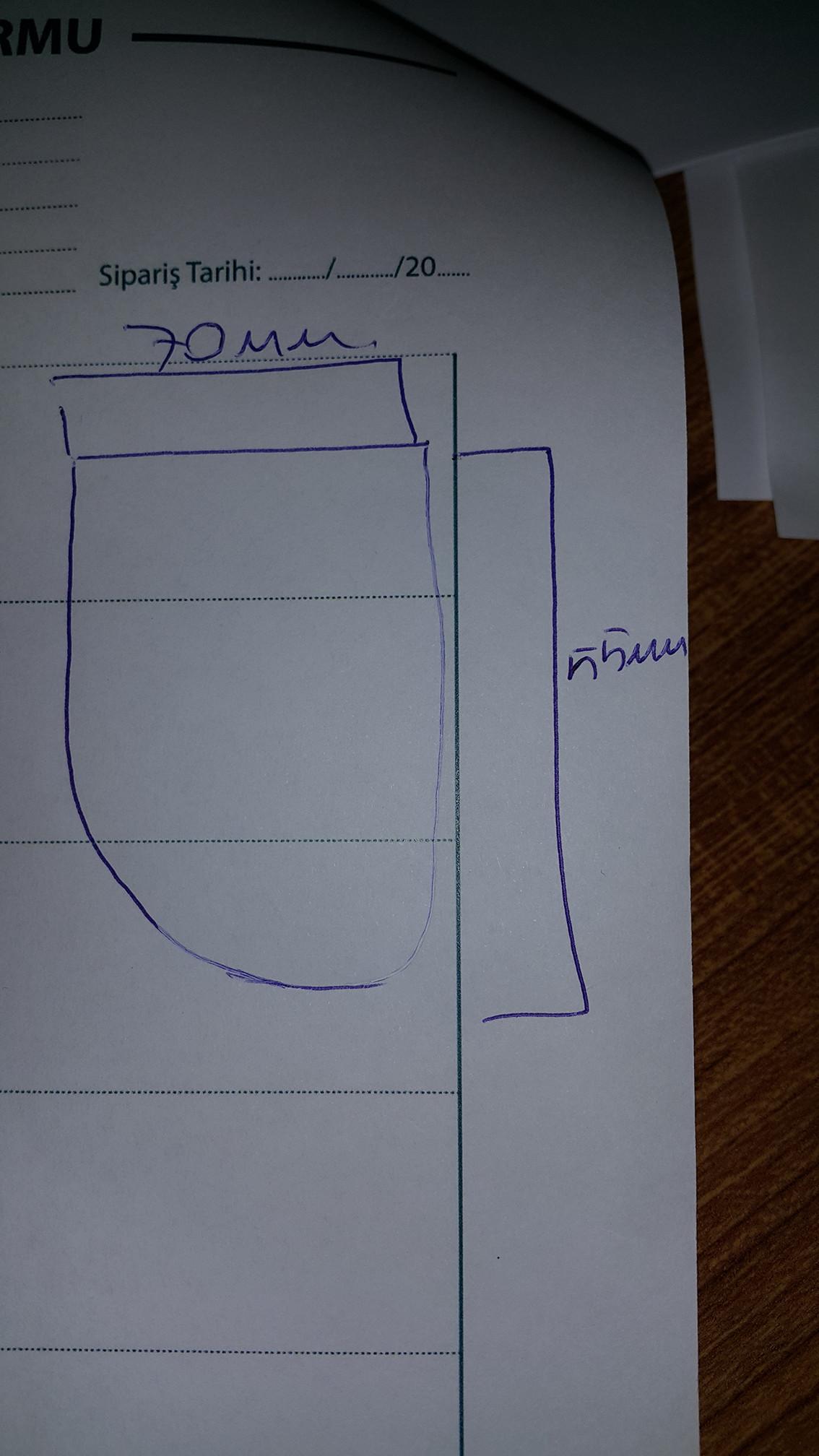 Kenar çizgilerini oval şekle nasıl getirebilirim?