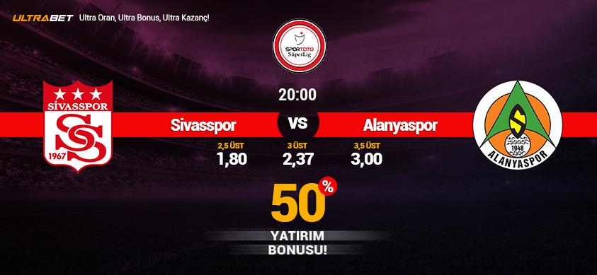 Sivasspor - Alanyaspor Canlı Maç İzle