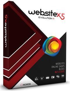 Incomedia WebSite X5 Evolution 14.0.6.2 Türkçe Full indir