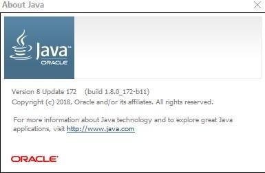 Java Runtime Environment 8 Update 172 [x86/x64]   Katılımsız
