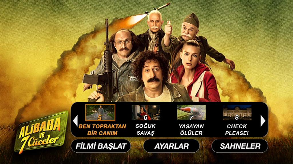 Ali Baba ve 7 Cüceler - Sansürsüz 2015  ( DVD-9 ) Yerli Film - indir