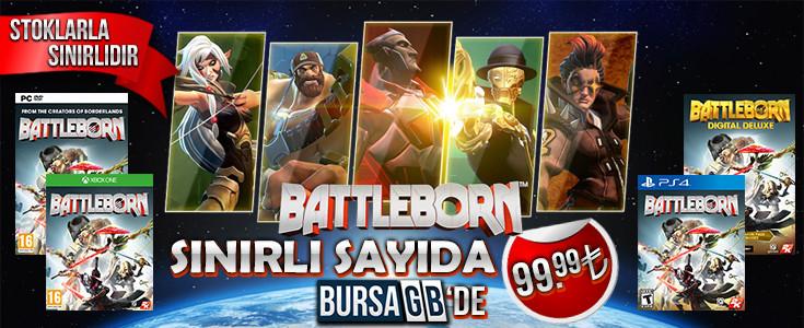 Battleborn Uygun Fiyatlarla Stoklarımızda