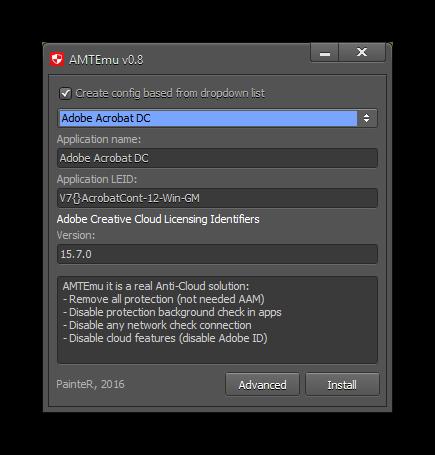 AMT Emulator v0.8.1 by PainteR