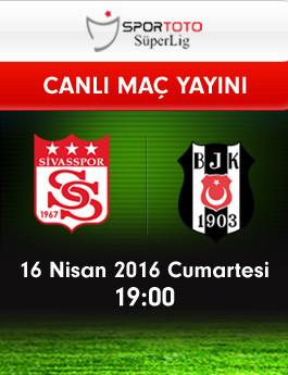 M.Sivasspor – Beşiktaş (16.04.2016) | HDTV 720p | Full Maç – VKRG