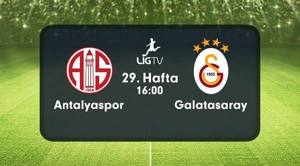 Antalyaspor – Galatasaray (16.04.2016) | HDTV 720p | Full Maç – VKRG