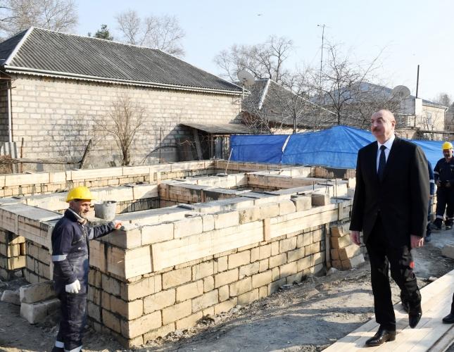Prezident İlham Əliyev Ağsuda olub - Fotolar