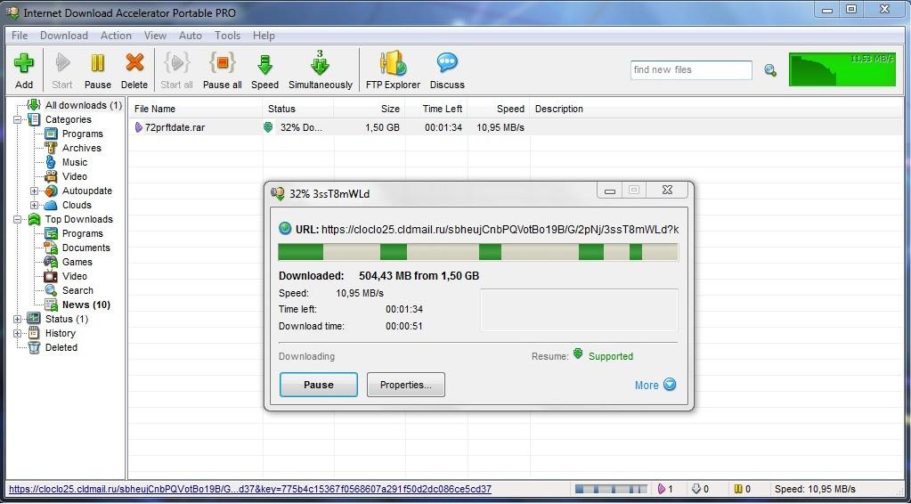 Internet Download Accelerator Pro 6 17 2 1613 - Portable   Board4All