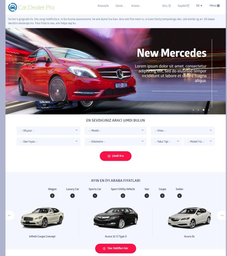Ücretsiz E-Ticaret Araç Scripti