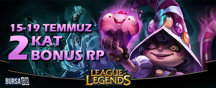 League of Legends'ta Iki Kat Bonus RP!