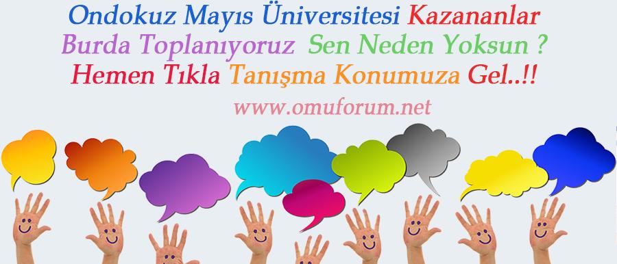 Ondokuz Mayıs Üniversitesi Kazananlar
