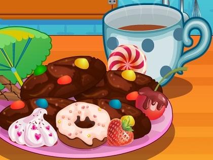 Çikolatalı Pasta Yap Oyunu