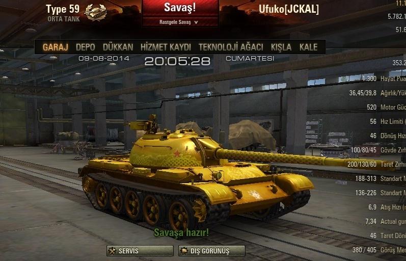 Type 59 G Skin