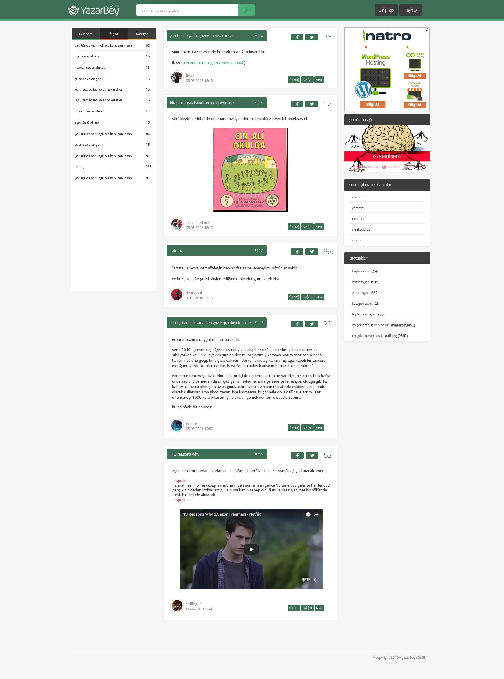 Ücretsiz Sözlük Tasarımı PSD
