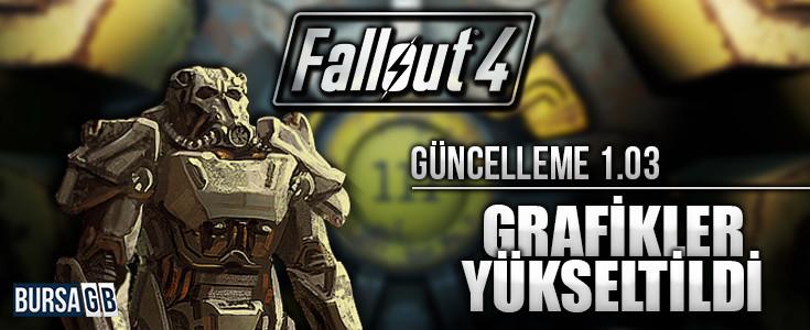 Fallout 4'ün 1.03 Güncellemesiyle Grafikler  Artirildi