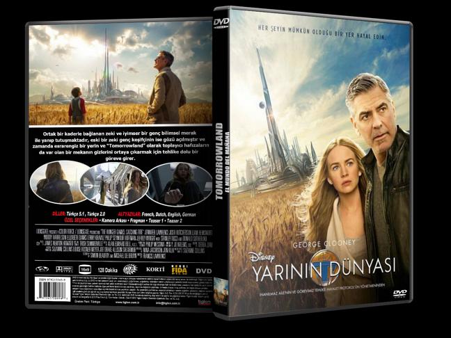 Yarının Dünyası – Tomorrowland 2015 DVD-9 DuaL TR-EN – Tek Link