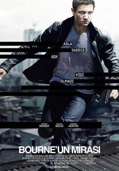 Bourne'un Mirası  - The Bourne Legacy   2012 M720p BluRay x264 Türkçe Dublaj