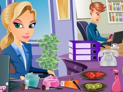 Ofis Makyajı Oyunu
