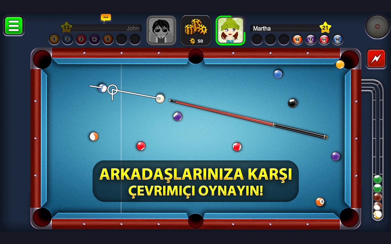 8 Ball Pool Android Oyun