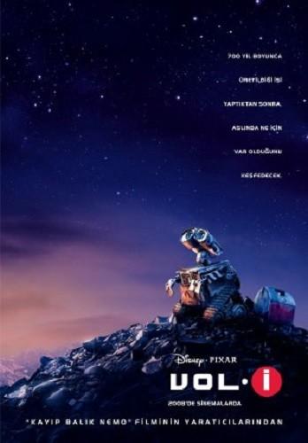 WALL-E | Vol. İ | 2008 | Türkçe Altyazı