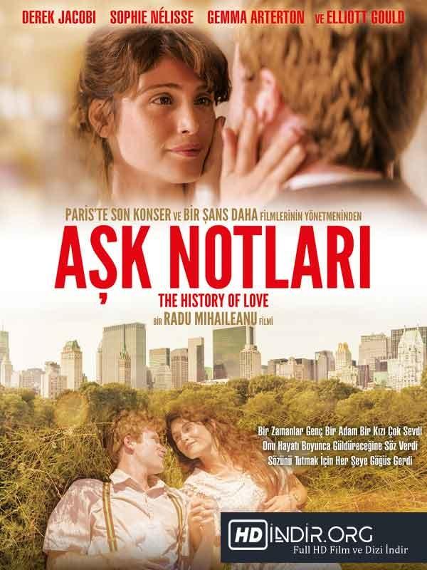 Aşk Notları - The History of Love (2016) Türkçe Dublaj HD film indir