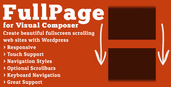FullPage for Visual Composer v1.7.4 Full İndir