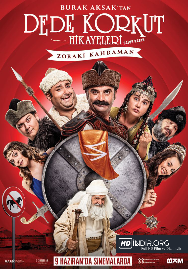 Dede Korkut Hikayeleri Salur Kazan: Zoraki Kahraman (2017) HD Film İndir