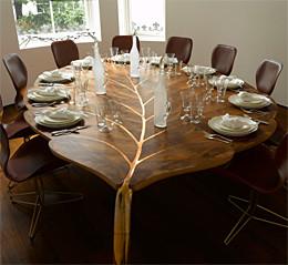 Niçin ahşap, çeşitli ağaç türünden yapılmış mobilya örnekleri,
