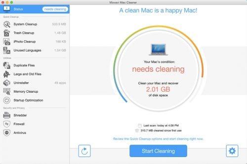 Movavi System Cleaner & Antivirus 1.0 - MacOSX