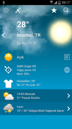 Weather XL PRO v1.4.0 [Patched Proper] | APK İndir