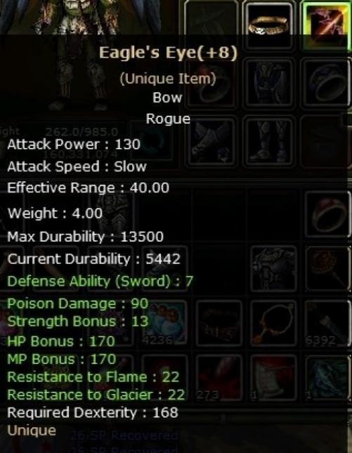 +8 EAGLe eye