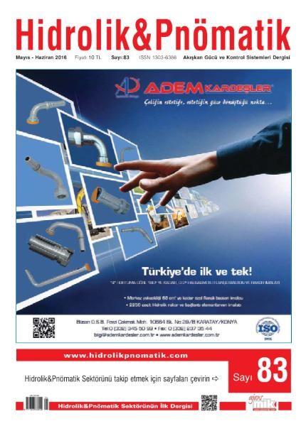 Hidrolik & Pnömatik Mayıs-Haziran 2016 PDF Dergi İndir