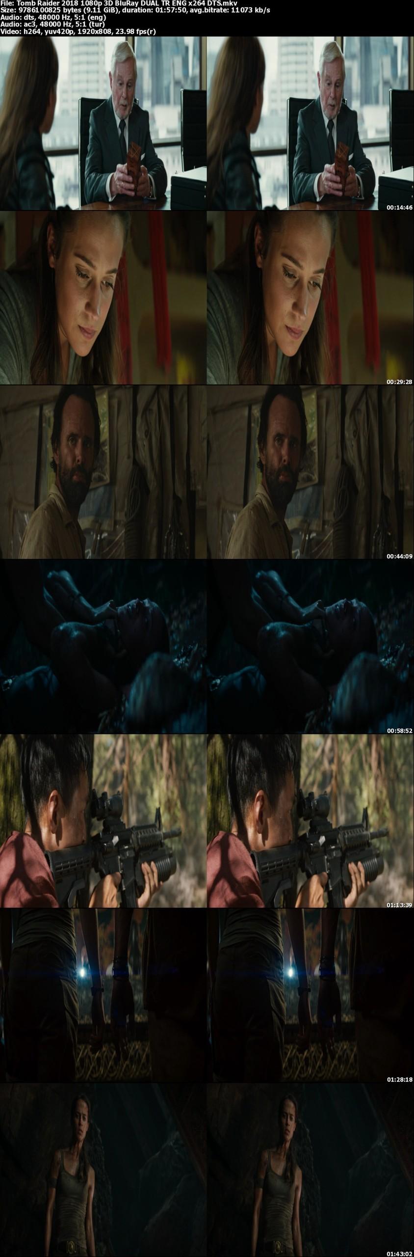 Tomb Raider - 2018 - 1080p 3D ( BluRay DUAL ) TR ENG