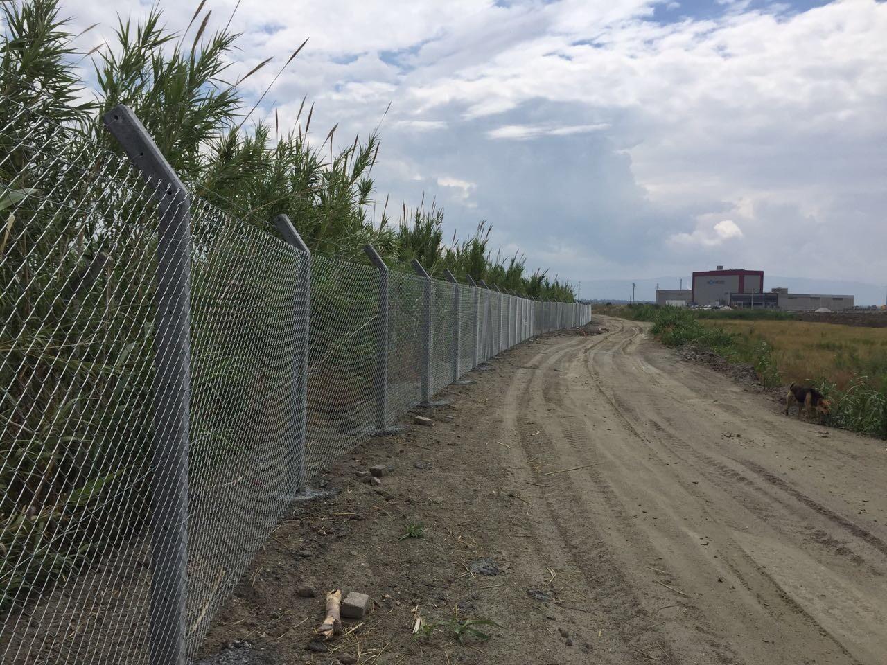 Söke Organize Sanayi Bölgesi Tel Çit İnşaatı Devam Ediyor