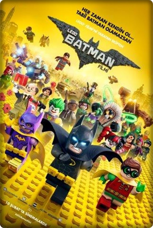 Lego Batman Filmi – The LEGO Batman Movie 2017 (Türkçe Dublaj) HDRip XviD