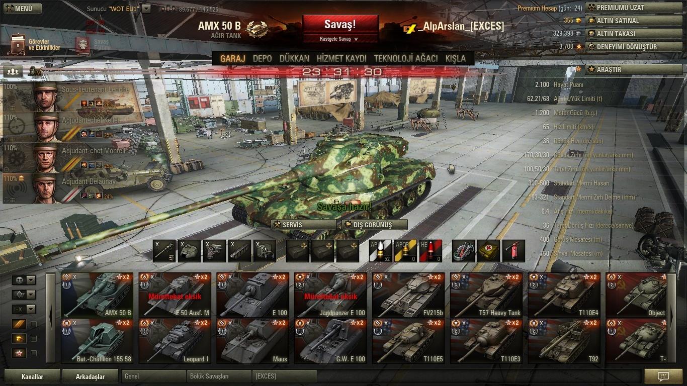 AMX 50B Skin