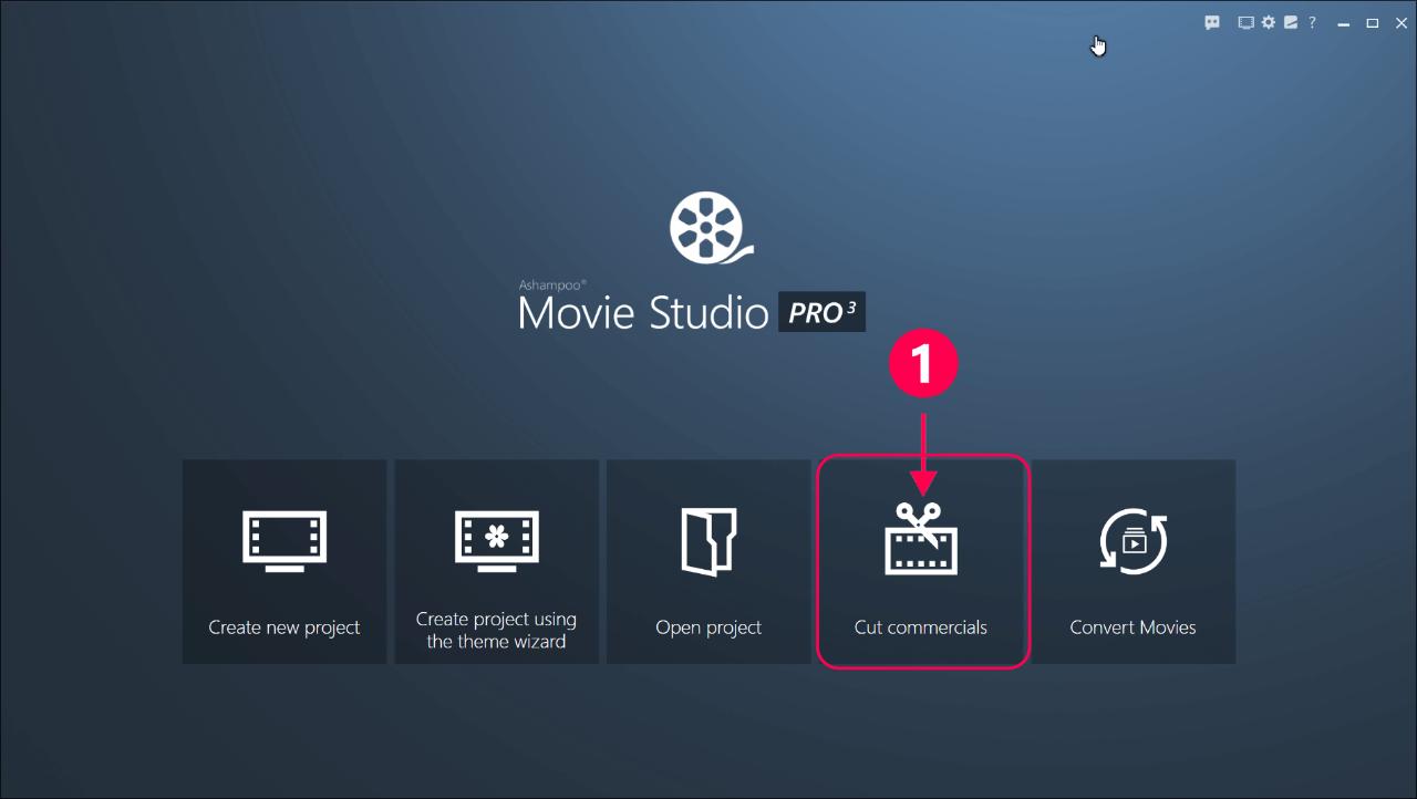 Ashampoo Movie Studio Pro 3.0.0  | Katılımsız