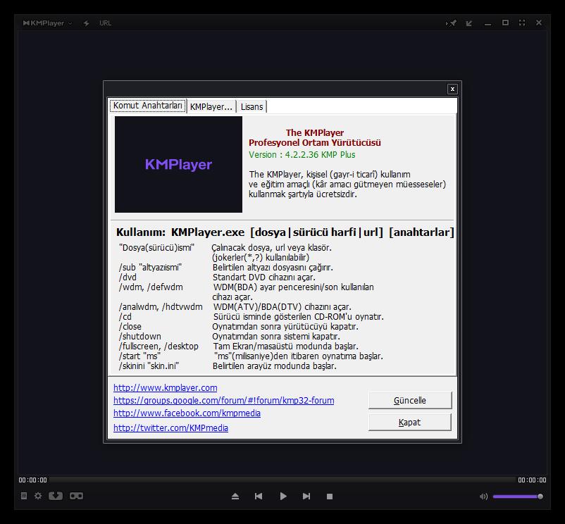 The KMPlayer 4.2.2.36 | Katılımsız