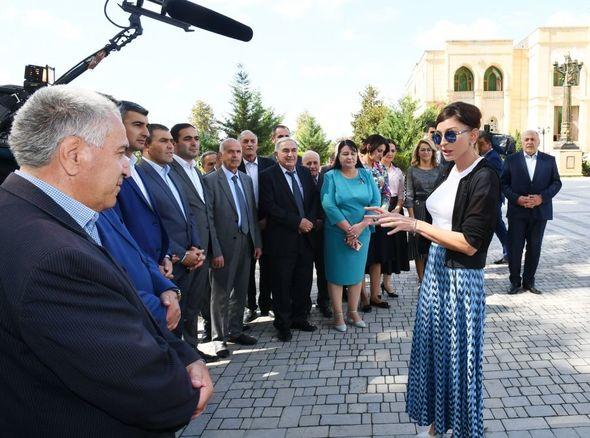 Birinci vitse-prezident İsmayıllıda səfərdə olub - FOTO