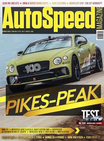 AutoSpeed Ağustos 2019