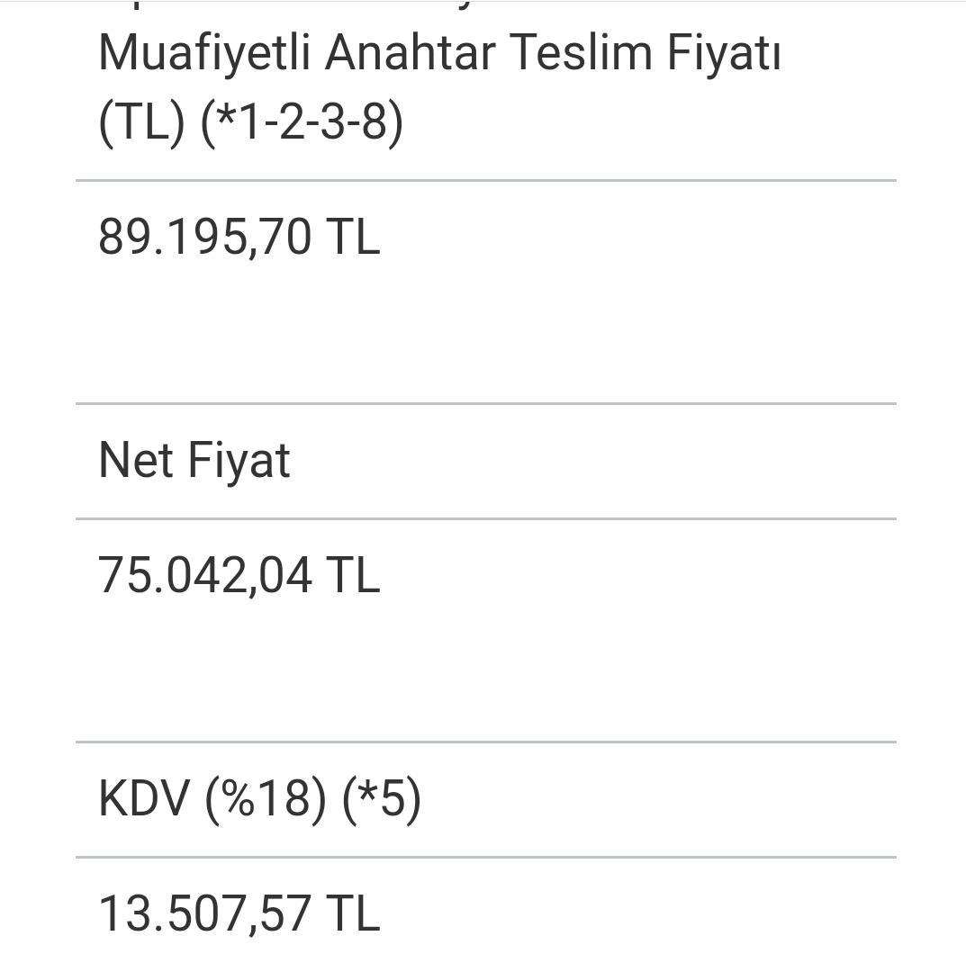 9Ynb15 - XXX TL'lik aracı ÖTV'siz kaç TL'ye alabilirim?