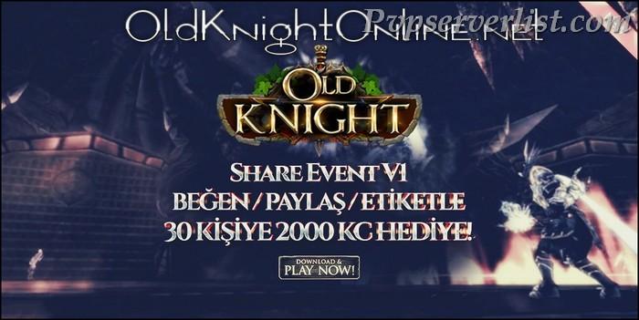 OldKnightOnline – Myko Server
