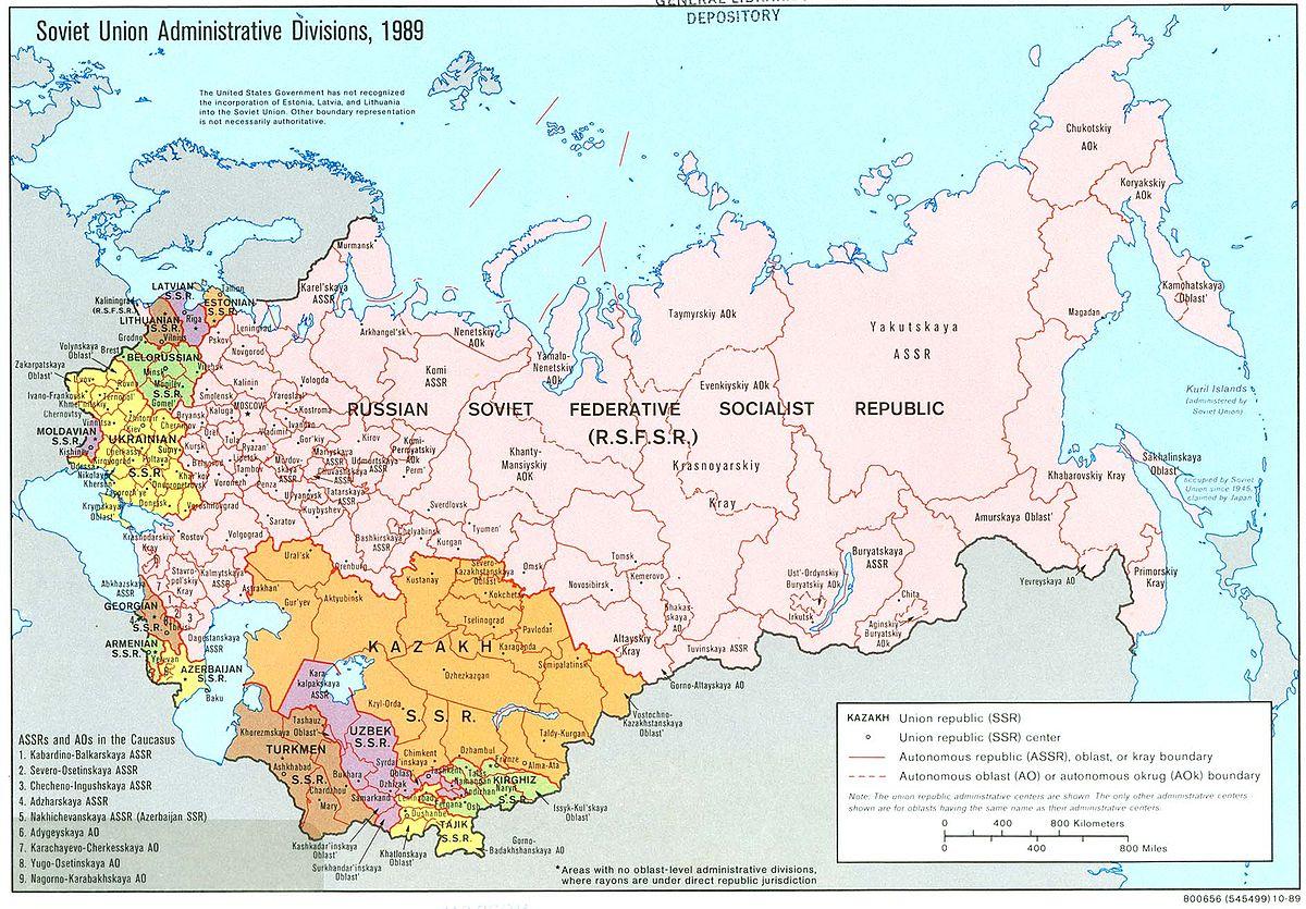 Sovet Sosialist Respublikaları İttifaqı adlı imperiya bu gün yaranıb...