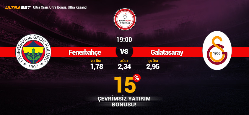 Fenerbahçe - Galatasaray Canlı Maç İzle