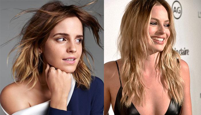 Emma Watson ve Margot Robbie - 27 yaşında