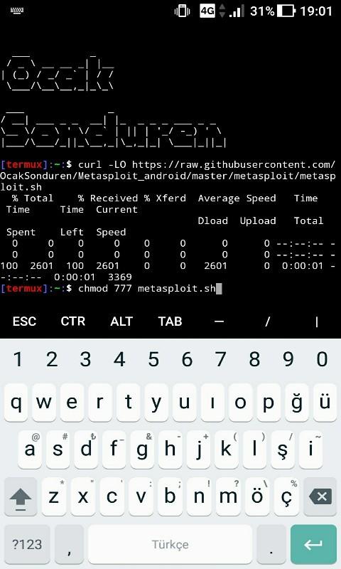 Android Cihazlara Métasploit Framework Kurulumu [RESİMLİ ANLATIM