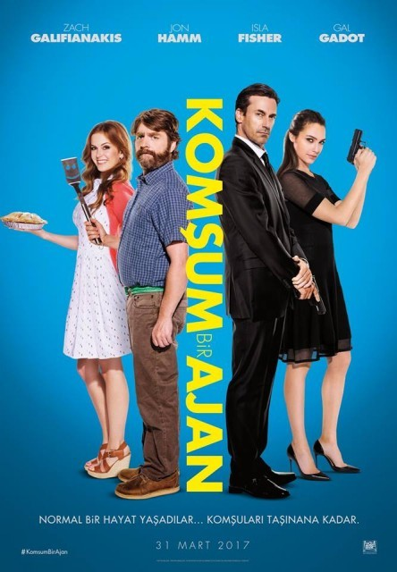 Komşum Bir Ajan | Keeping Up with the Joneses | 2016 | BRRip XviD | Türkçe Dublaj