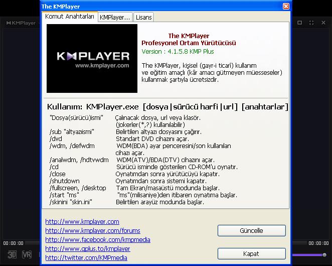 The KMPlayer 4.1.5.8 Final | Katılımsız