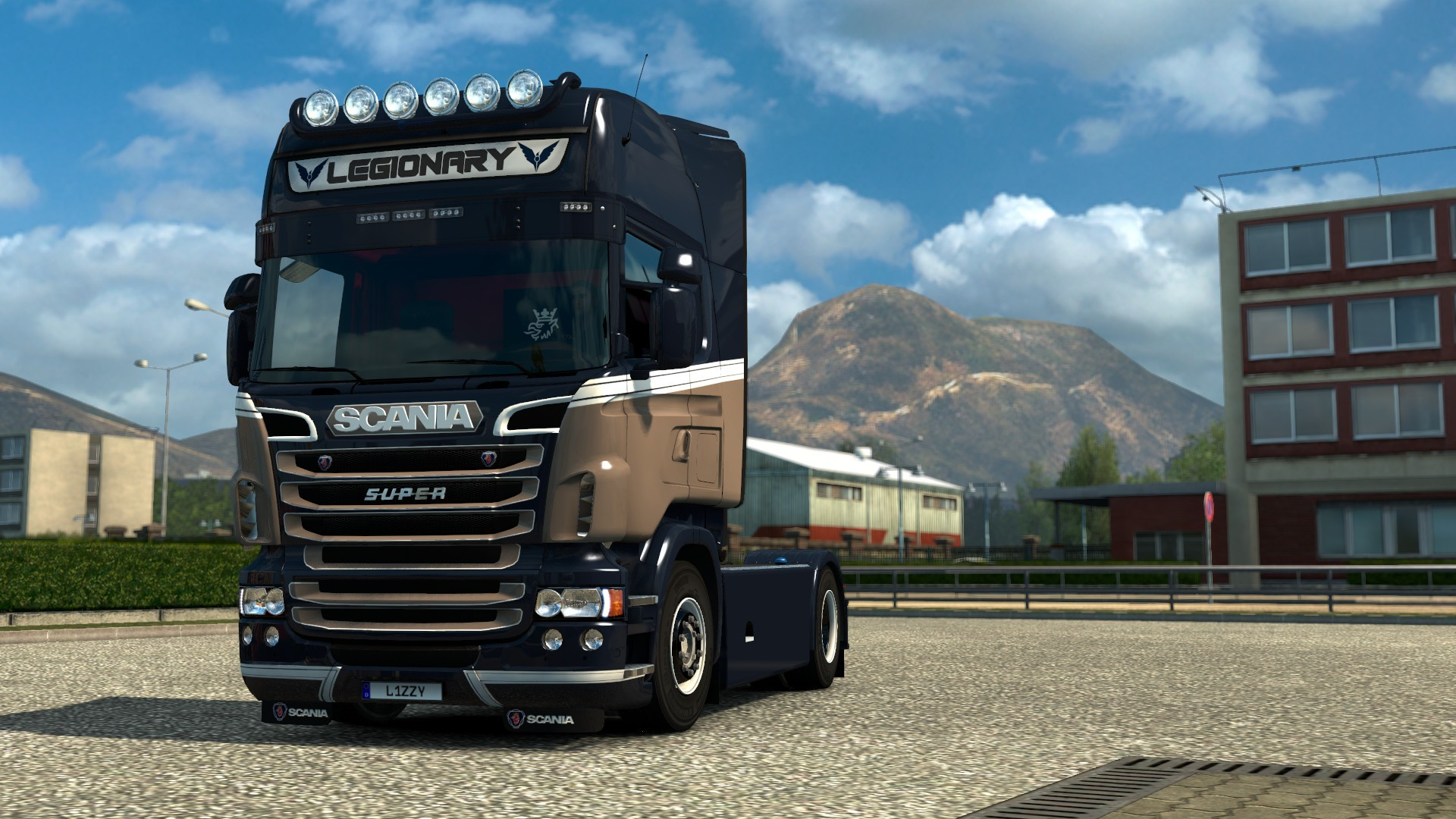 Scania RJL - Legionary Paintjob by l1zzy