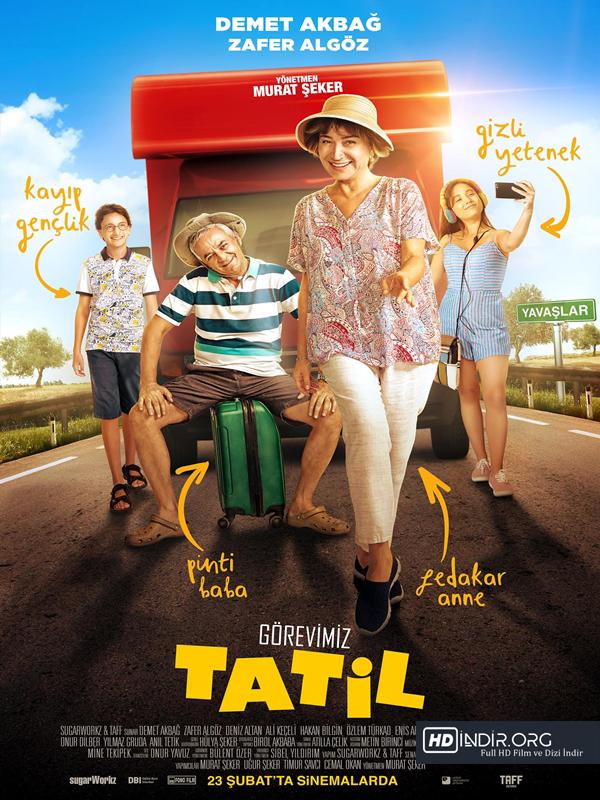 Görevimiz Tatil indir (2018) Full Yerli Film HD Tek Link